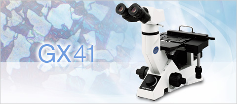 GX41 - Olympus Compact Inverted Metallurgical Microscope