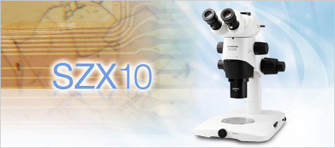 SZX10 Stereo Microscopes Working Distance Field Size