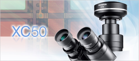 XC50 5 MP Color High Dynamic Range Microscope Digital Camera
