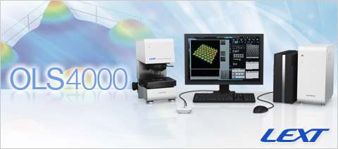 LEXT OLS4000 Industrial Laser Confocal Microscopes 3D