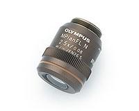 MPLFLN2.5x objective lens