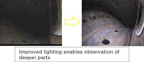 Improved brightness for defect detection