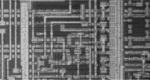 シリコン層化のICパターン