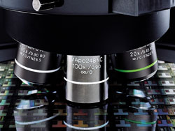 MX61a microscope with Laser autofocus objective lenses