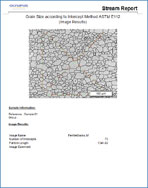 Report 3 > Olympus Stream materials science software > Olympus Stream, image analysis software