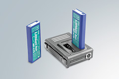 Akumulator litowo-jonowy i ładowarka akumulatora