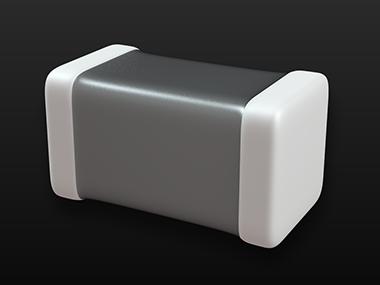 Image of a multilayer ceramic condenser