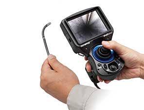 Compact Palm-sized Videoscope