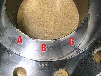 Example of a calibration standard.
