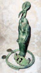 Copper Based Statue
