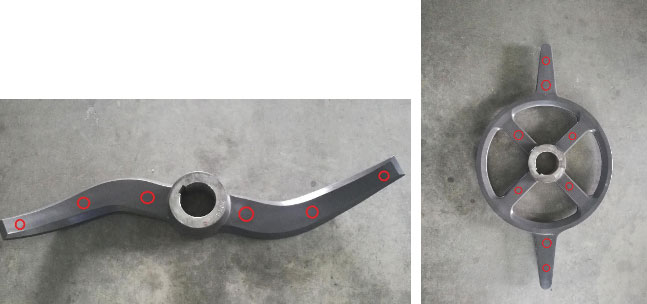 impeller blades for high-power lithium-ion battery production