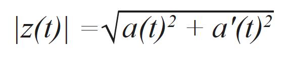 Formula for the signal envelope