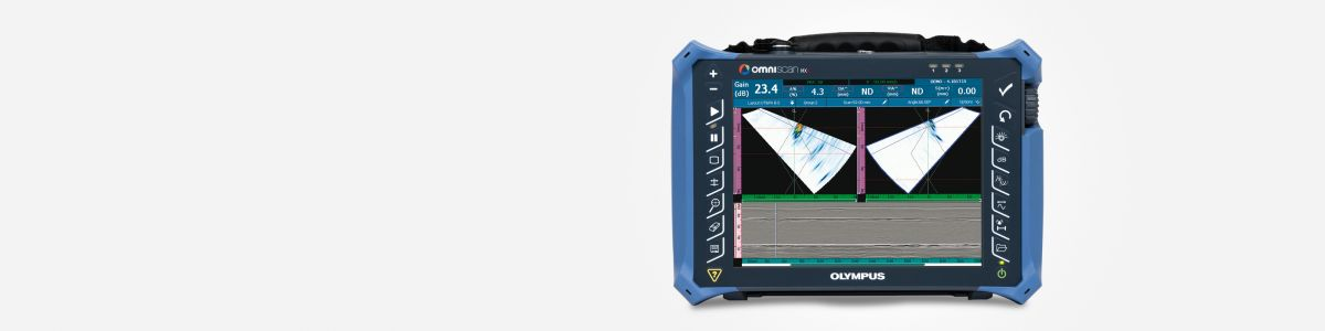 OmniScan MX2 Phased Array Flaw Detector