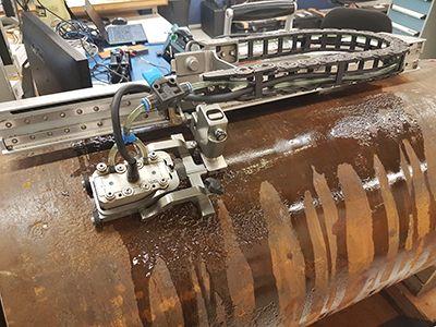 HydroFORM corrosion scanner