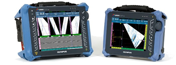 Automated Detection Technology software works with OmniScan flaw detectors