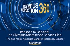 Olympus Inspection 360: Reasons to Consider an Olympus Microscope Service Plan