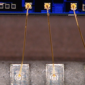 Bonding wire (150X)