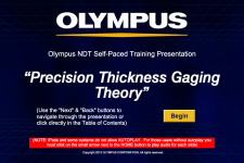 Precision Thickness Gauging Theory