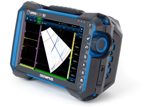 Phased array ultrasonic testing (PAUT) flaw detector