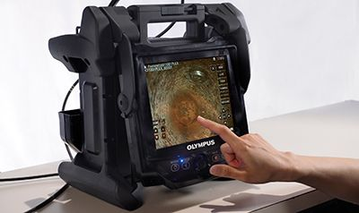Figure 2—Olympus' IPLEX NX videoscope makes it easier to see hard-to-reach places.